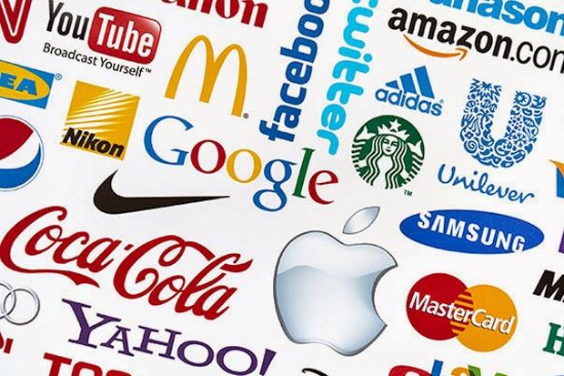 marketing medico e logos famosas com design simples