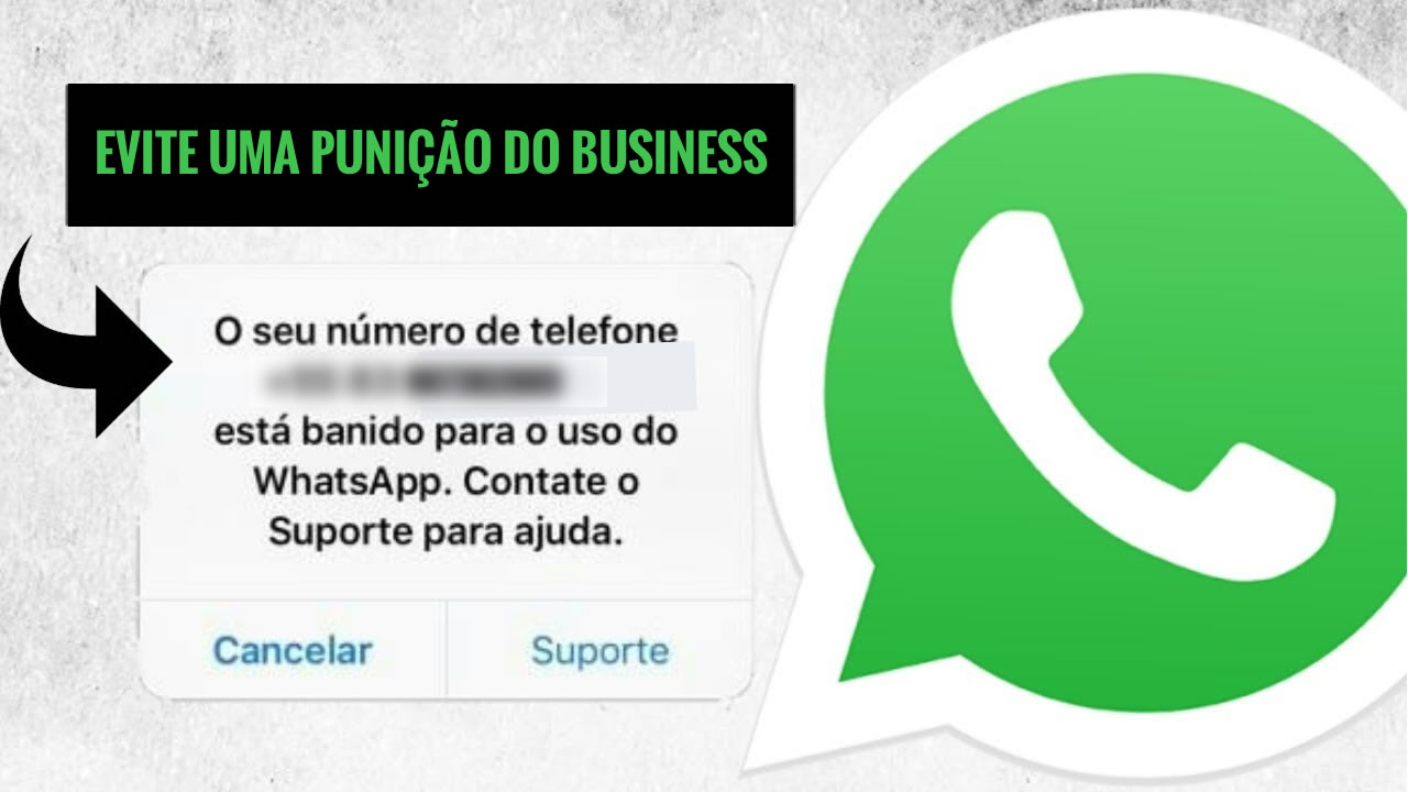 punição whatsapp business